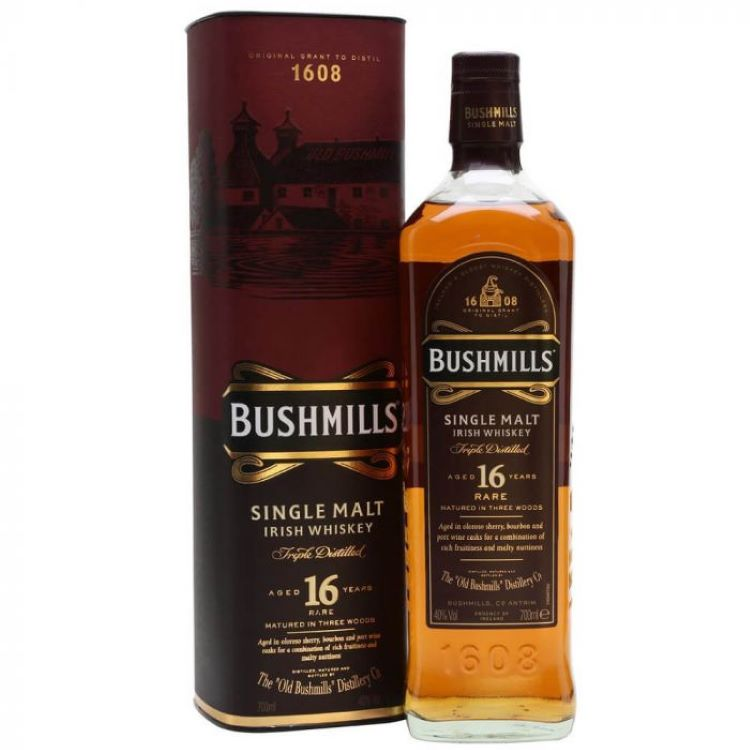 Bushmills 16 Year Whiskey - ishopliquor