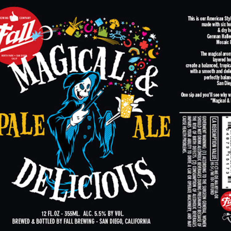Fall Brewing Magical And Delicious Pale Ale 6 Pack - ishopliquor