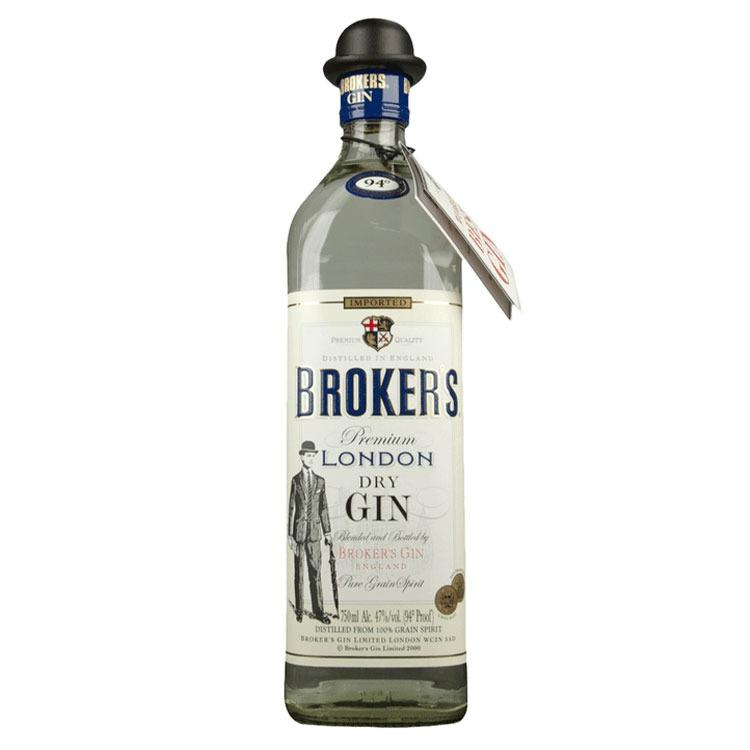 Broker's London Dry Gin - ishopliquor