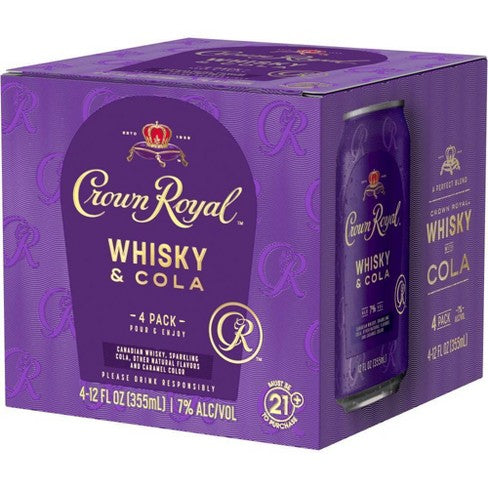 Crown Royal Cocktail Whisky & Cola