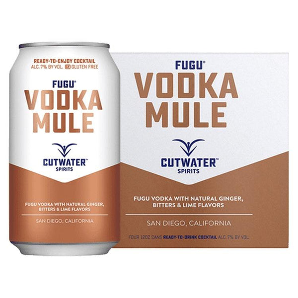 Cutwater Vodka Mule Canned Cocktail 4 Pack - ishopliquor