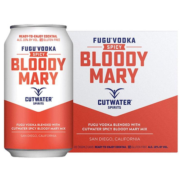 Cutwater Spicy Bloody Mary 4pk - ishopliquor