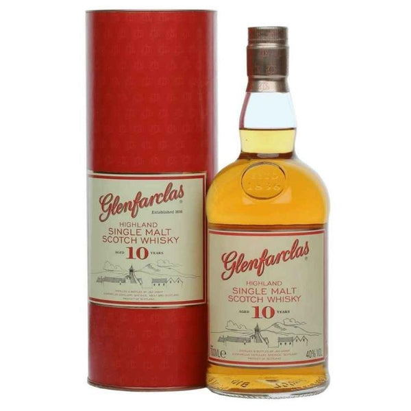 Glenfarclas 10 Year Scotch - ishopliquor