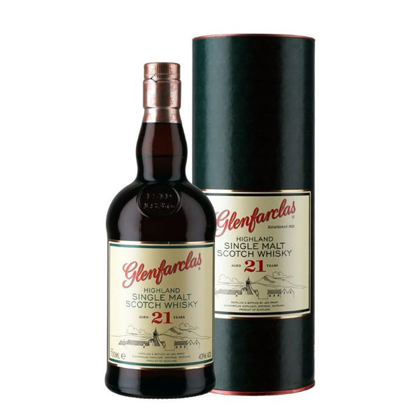 Glenfarclas 21 Year Old Scotch - ishopliquor