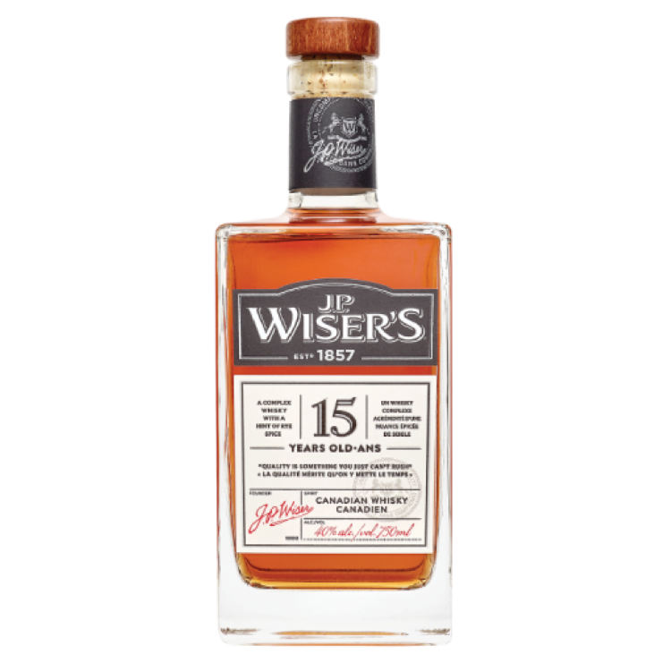 JP Wiser 15 Year Old Canadian Whisky