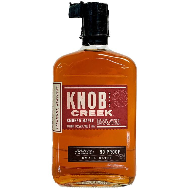 Knob Creek Smoked Maple Bourbon - ishopliquor