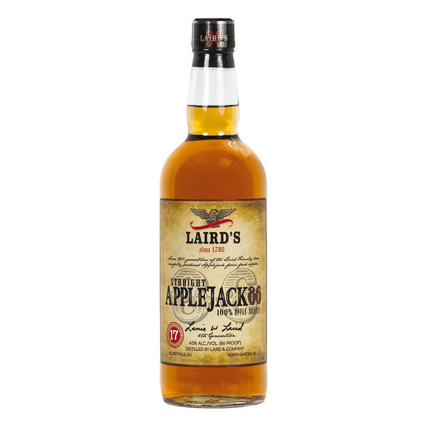 Laird's Straight Apple Jack Brandy 86 - ishopliquor
