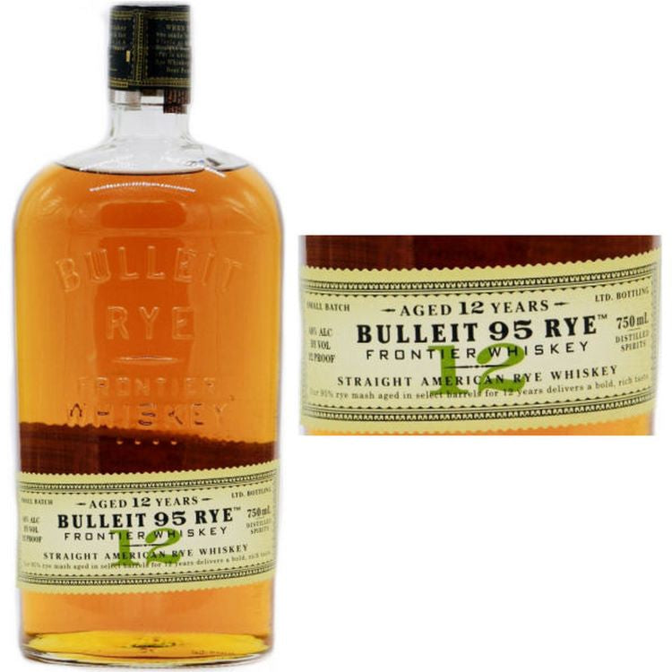 Bulleit 12yr Old Rye Whiskey - ishopliquor