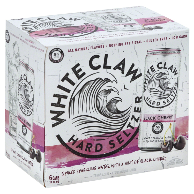 White Claw Black Cherry 6pk - ishopliquor