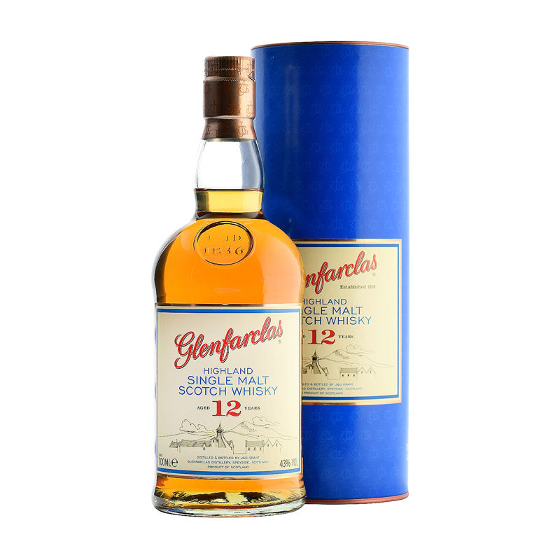 Glenfarclas 12 Yr Scotch Whiskey - ishopliquor