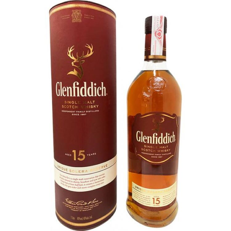 Glenfiddich 15 Year Scotch - ishopliquor