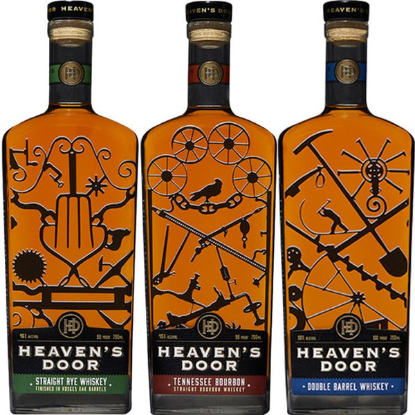 Bob Dylan's Heaven's Door Whiskey Gift Set - ishopliquor