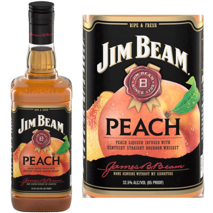 Jim Beam Peach - ishopliquor