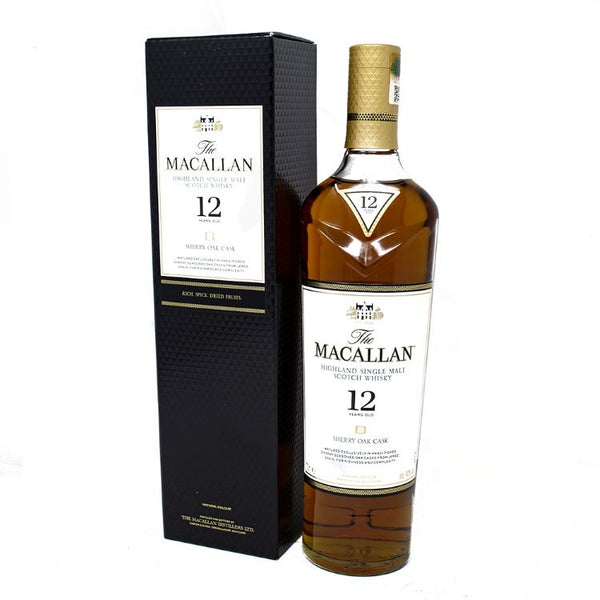 Macallan 12 Year Old Sherry Oak Whiskey - ishopliquor