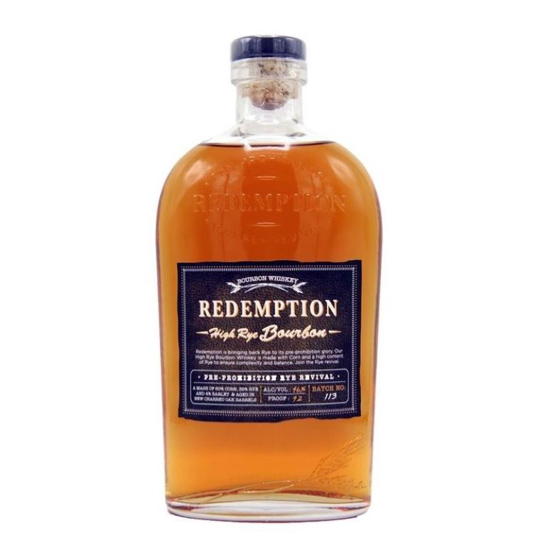 Redemption High Rye Bourbon - ishopliquor