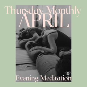 APRIL | Monthly Thursday Meditation Evening | Woody Point Memorial Hall