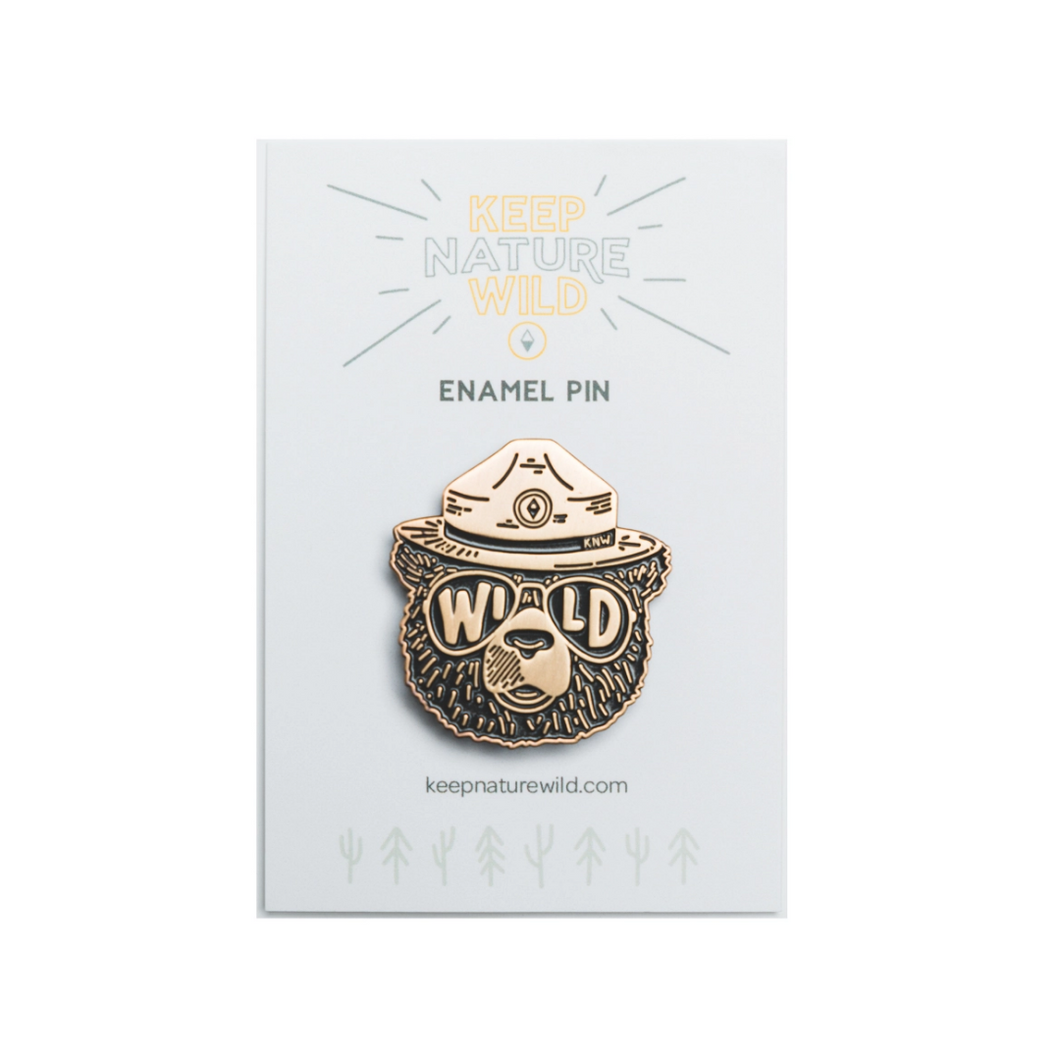 Wildbear Enamel Pin
