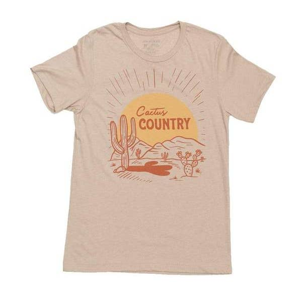 Cactus Country Tee