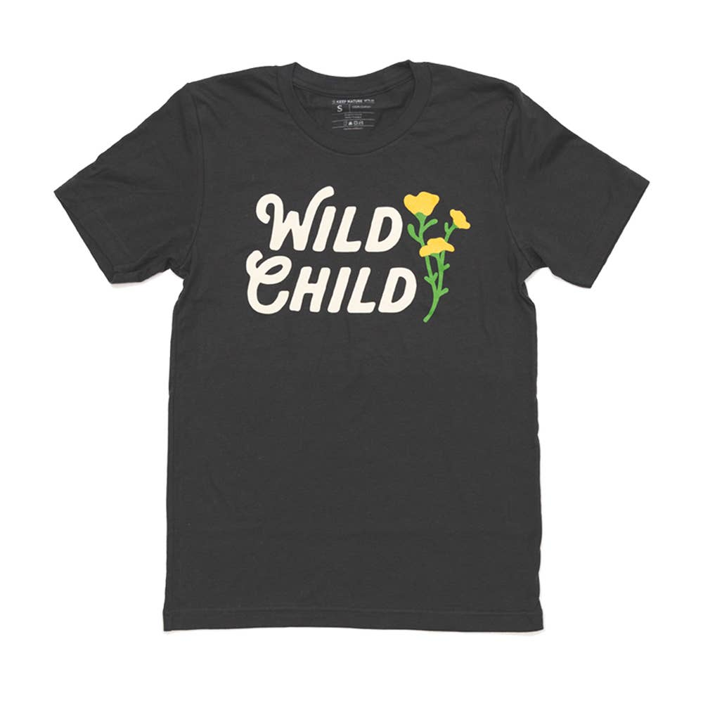 Wild Child Tee | Navy Blue
