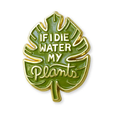 Water My Plants Pin
