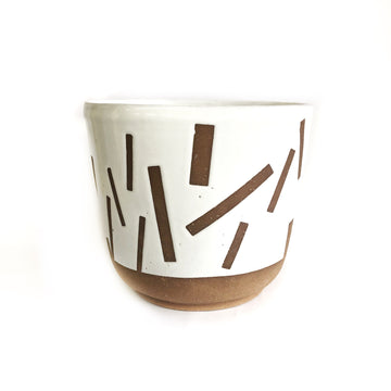 Confetti Pot | White