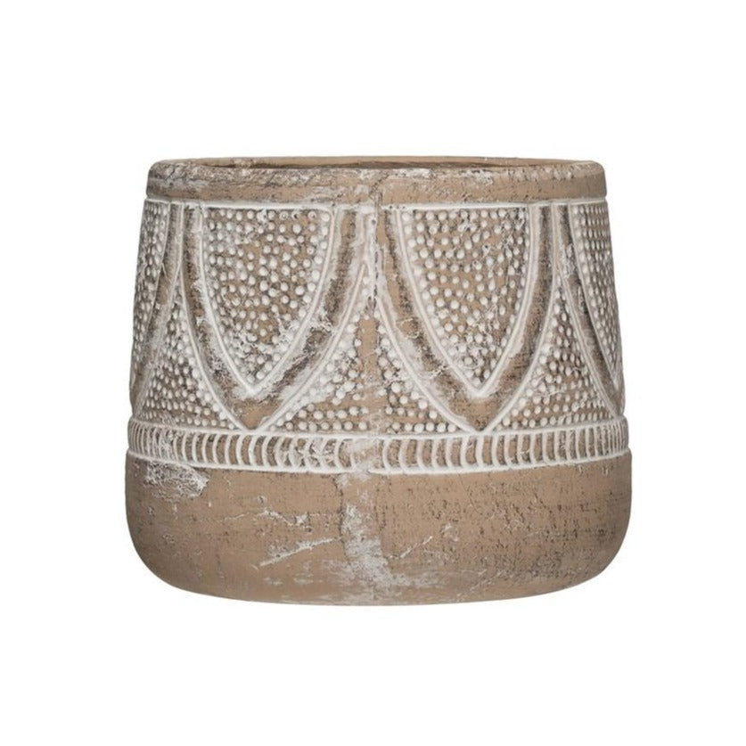 Jules Embossed Planter