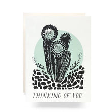 Cactus Thinking Of You Greeting Card