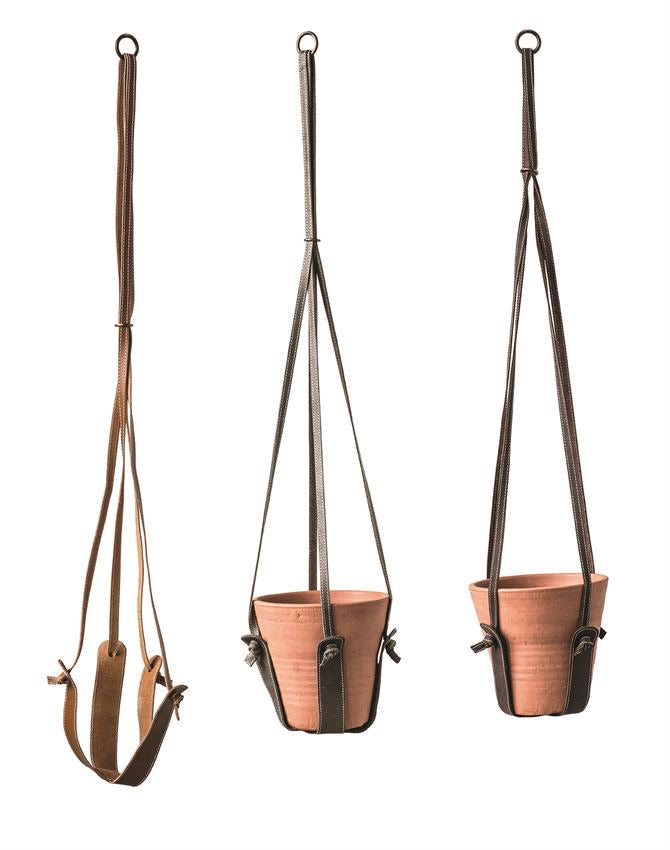 Leather Pot Hanger