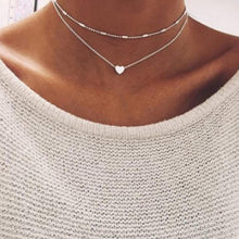 Load image into Gallery viewer, Boho Gold Color Star Pendant necklace For Girl chain necklaces for women  Kolye Bijoux Collares Mujer gargantilha Collier Femme