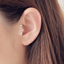Load image into Gallery viewer, Single Earring Unique New Silver Filled Alloy Branch Tragus Piercing Earring For Women Non Piercing Clip Earring 2019