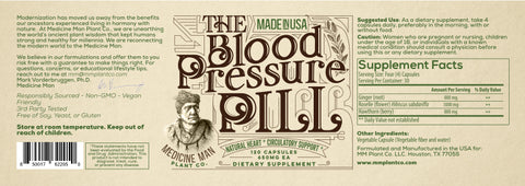 Medicine Man Plant Co Liver and Blood Pressure Core Armor