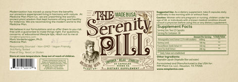Medicine Man Plant Co. The Serenity Pill