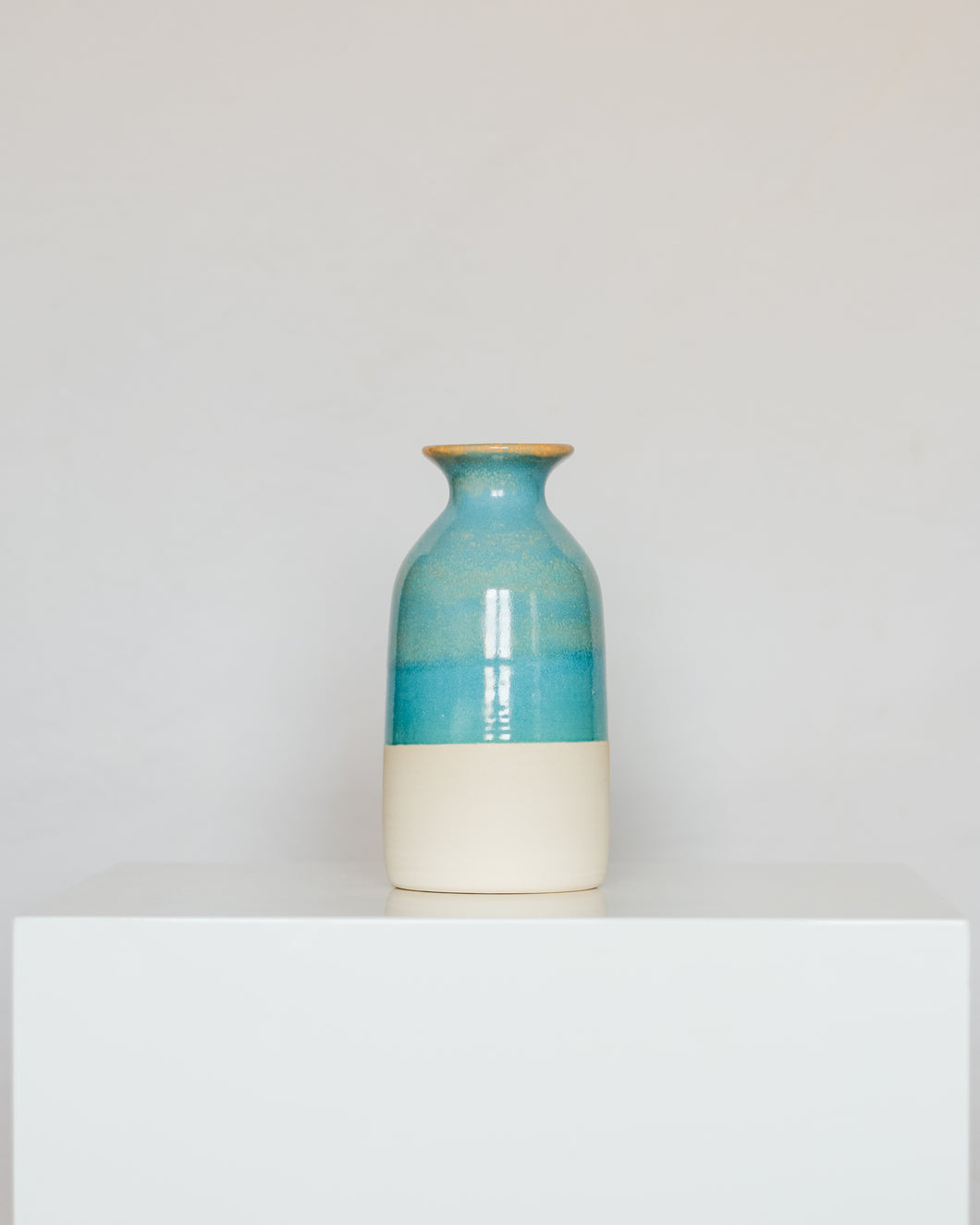 Bottle in Blue Coral