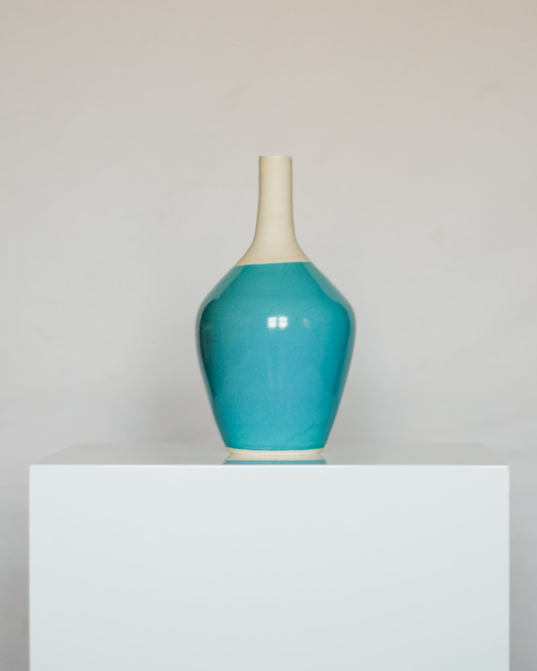 Gum Drop Vase in Blue