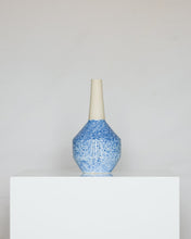 Load image into Gallery viewer, Geo Vase in Speckle Blue