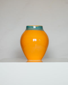 Round Vessel in Orange