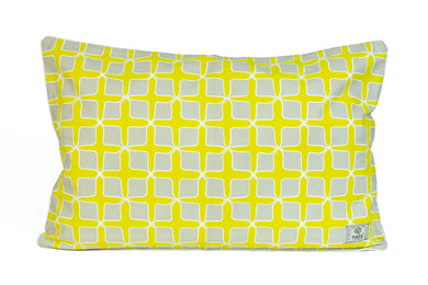 Kussenhoes Love Lattice Yellow (65 bij 40)