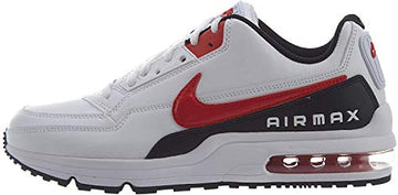Nike AIR MAX LTD 3 Herren Traillaufschuhe, Nike Air Max Schuhe , Mehrfarbig (White/University Red-Black 100)