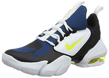 Nike Air Max Alpha Savage Herren Sport schuhe Laufschuhe, Blau (Blue Force/Dynamic Yellow-White-Black 471)