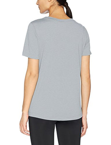 Nike Damen T-shirt Regular Fit Rundhalsausschnitt 829747, T-shirts für Damen Light Pumice/Light Pumice/White