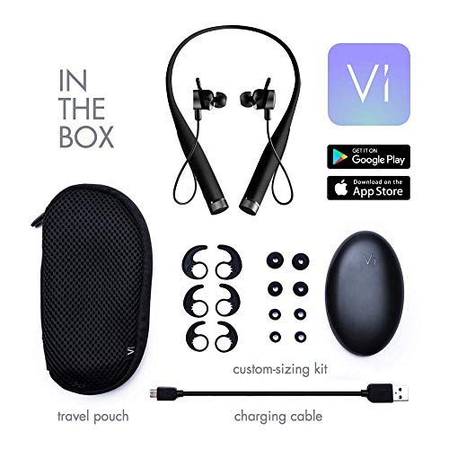 Amazon || AL Ultimate Fitness Audio Coach Vivi VI mit Advanced in-Ear-Herzfrequenz, Vivi VI \ Schwarz