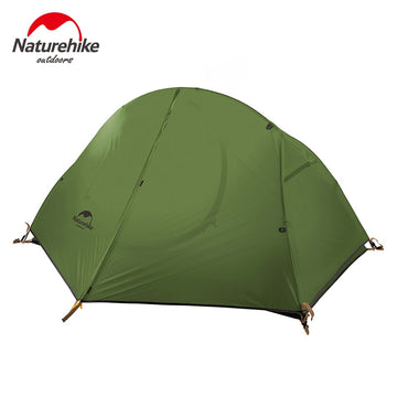 Naturehike Outdoor Single Ultralight Zelt Doppelschicht Professional Camping Reiten Wild Zelt Anti-Regensturm