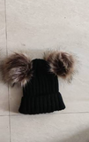 P-CoC Winter Hats With Pompoms