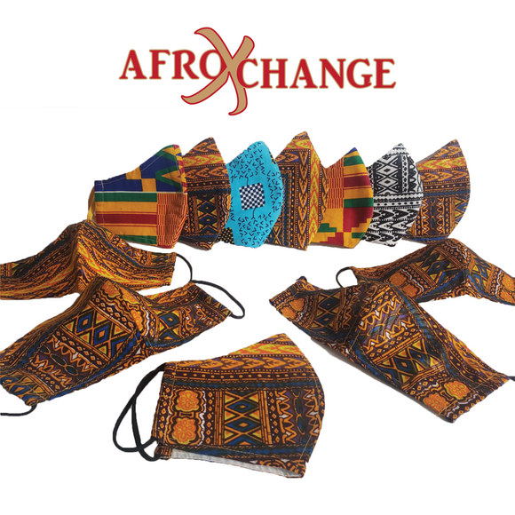 AfroXchange: Protective Fashionable Facemask