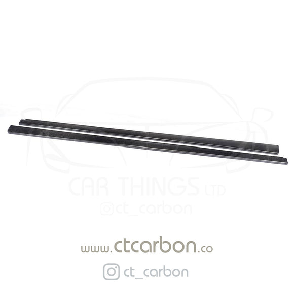 MERCEDES W204 C63 CARBON FIBRE SIDE SKIRTS - CT Carbon