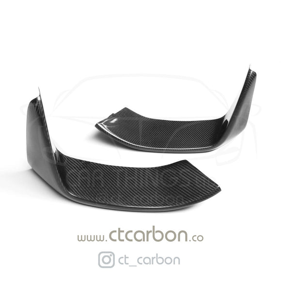 BMW M3/M4 (F80 F82 F83) CARBON CANARDS / SPLITTERS - MP STYLE - CT Carbon