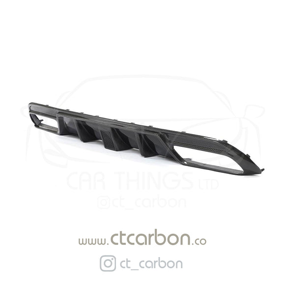 MERCEDES W205 C63 & C63S SALOON 4DR CARBON DIFFUSER - CT DESIGN - CT Carbon