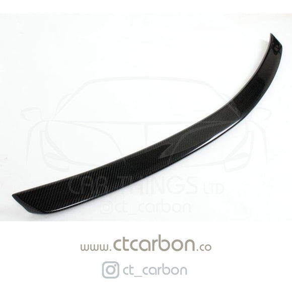 MERCEDES C-CLASS C63 W204 4DR SALOON CARBON FIBRE SPOILER - CT Carbon