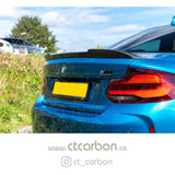 BMW M2 / M2C F87 & F22 2 SERIES CARBON FIBRE SPOILER - CS STYLE - CT Carbon
