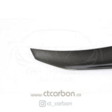 BMW M2 / M2C F87 & F22 2 SERIES CARBON FIBRE SPOILER - DUCKTAIL PS STYLE - CT Carbon